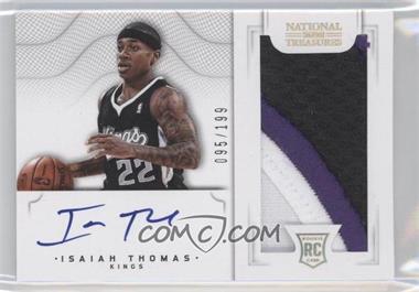 2012-13 Panini National Treasures #132 - Group I Rookies 2011 Rookies - Isaiah Thomas /199