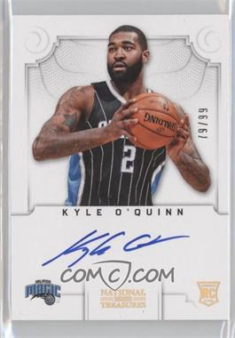 2012-13 Panini National Treasures #144 - Group I Rookies Autographs - Kyle O'Quinn /99