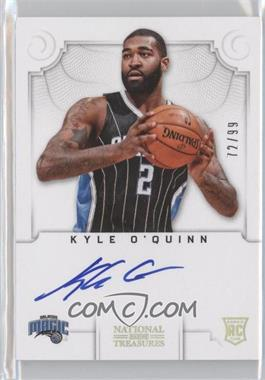 2012-13 Panini National Treasures #144 - Kyle O'Quinn /99