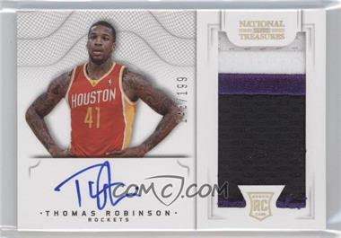 2012-13 Panini National Treasures #155 - Group II Rookies 2012 Rookies - Thomas Robinson /199