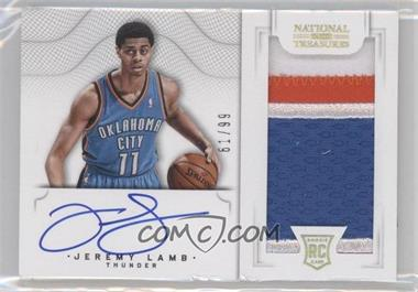 2012-13 Panini National Treasures #162 - Jeremy Lamb /99