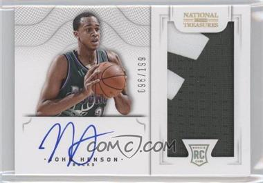 2012-13 Panini National Treasures #164 - John Henson /199