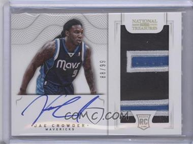 2012-13 Panini National Treasures #166 - Group II Rookies 2012 Rookies - Jae Crowder /99
