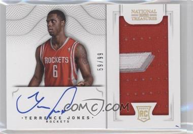 2012-13 Panini National Treasures #168 - Group II Rookies 2012 Rookies - Terrence Jones /99