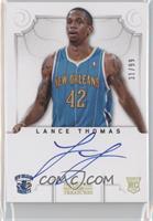 Group II Rookies Autographs - Lance Thomas /99