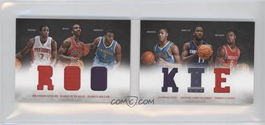2012-13 Panini Preferred - Rookie Material Booklet #7 - Anthony Davis, Brandon Knight, Darius Miller, Marquis Teague, Michael Kidd-Gilchrist, Terrence Jones /249