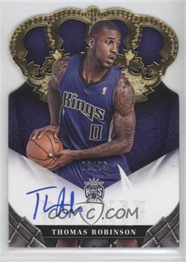 2012-13 Panini Preferred Crown Royale Signatures Gold #386 - Thomas Robinson /25