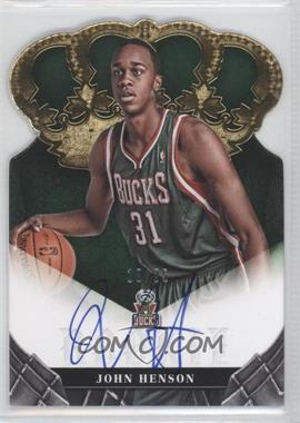 2012-13 Panini Preferred Crown Royale Signatures Gold #402 - John Henson /25