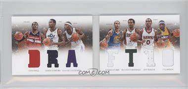 2012-13 Panini Preferred Draft Material Booklet #3 - Brandon Jennings, Derrick Favors, Stephen Curry, Ty Lawson, DeMarcus Cousins, Jeff Teague, John Wall /199