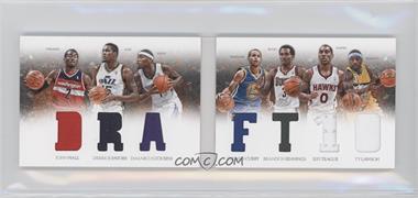 2012-13 Panini Preferred Draft Material Booklet #3 - Brandon Jennings, Derrick Favors, Stephen Curry, Ty Lawson, DeMarcus Cousins, Jeff Teague, John Wall /199