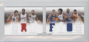 2012-13 Panini Preferred Draft Material Booklet #5 - Danny Granger, David Lee, Deron Williams, Raymond Felton, Andrew Bogut, Andrew Bynum, Chris Paul /199