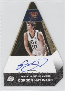 2012-13 Panini Preferred Panini's Choice Award Gold #42 - Gordon Hayward /10