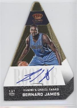 2012-13 Panini Preferred Panini's Choice Award Gold #506 - Bernard James /10