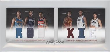 2012-13 Panini Preferred Rookie Material Booklet #10 - Bradley Beal, Derrick Williams, Enes Kanter, Anthony Davis, Kyrie Irving, Michael Kidd-Gilchrist /249