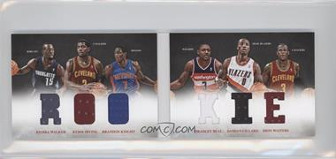 2012-13 Panini Preferred Rookie Material Booklet #5 - Bradley Beal, Brandon Knight, Dion Waiters, Damian Lillard, Kemba Walker, Kyrie Irving /249