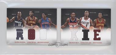 2012-13 Panini Preferred Rookie Material Booklet #5 - Bradley Beal, Brandon Knight, Dion Waiters, Damian Lillard, Kemba Walker, Kyrie Irving /249