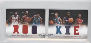 2012-13 Panini Preferred Rookie Material Booklet #7 - Anthony Davis, Brandon Knight, Darius Miller, Marquis Teague, Michael Kidd-Gilchrist, Terrence Jones /249