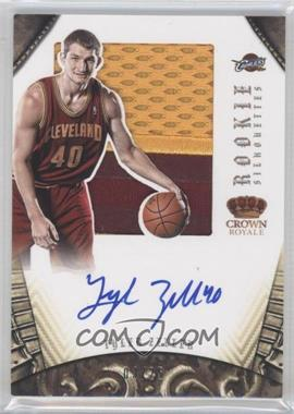 2012-13 Panini Preferred Rookie Silhouettes Prime #306 - Tyler Zeller /25