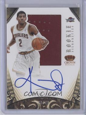 2012-13 Panini Preferred Rookie Silhouettes #327 - Kyrie Irving /99