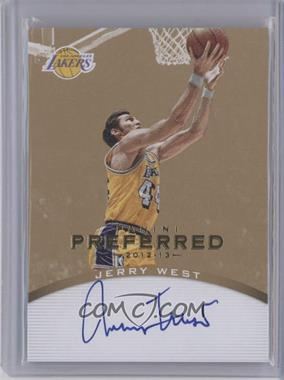 2012-13 Panini Preferred Signatures Gold #161 - Jerry West /10