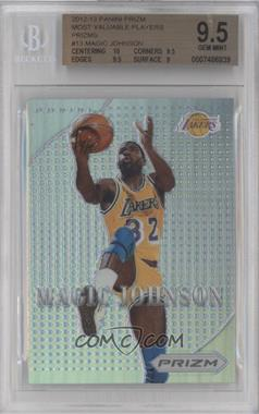 2012-13 Panini Prizm - Most Valuable Players - Prizms #13 - Magic Johnson [BGS 9.5]