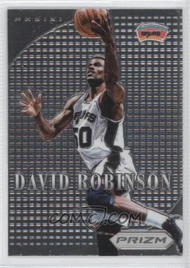 2012-13 Panini Prizm - Most Valuable Players #11 - David Robinson