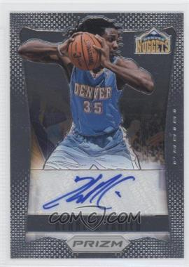 2012-13 Panini Prizm Autographs #10 - Kenneth Faried