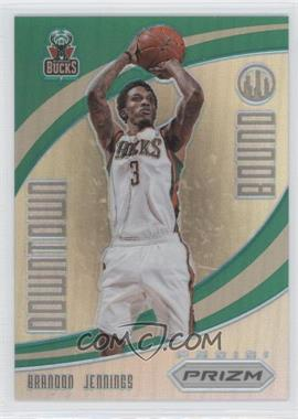 2012-13 Panini Prizm Downtown Bound Green Prizms #11 - Brandon Jennings