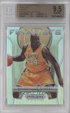 2012-13 Panini Prizm Finalists Prizms #10 - Shaquille O'Neal [BGS 9.5]
