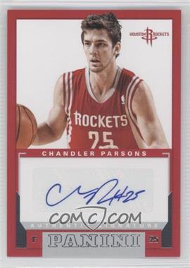2012-13 Panini Rookie Signatures [Autographed] #5 - Chandler Parsons