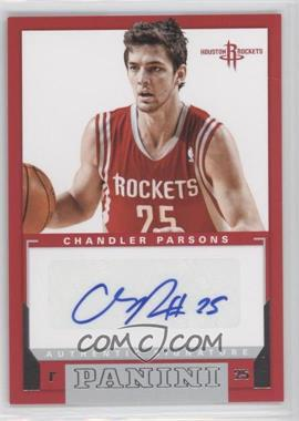 2012-13 Panini Rookie Signatures #5 - Chandler Parsons