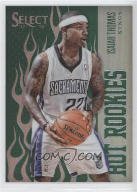 2012-13 Panini Select Hot Rookies Industry Summit Green Prizms #38 - Isaiah Thomas /15