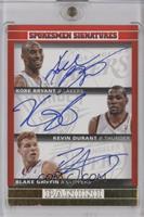 Blake Griffin, Kevin Durant, Kobe Bryant /5