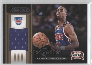 2012-13 Panini Threads - Authentic Threads #59 - Kenny Anderson