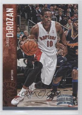 2012-13 Panini Threads - [Base] - Century Proof Platinum #134 - DeMar DeRozan /10