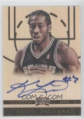 2012-13 Panini Threads - [Base] #163 - Rookies - Kawhi Leonard