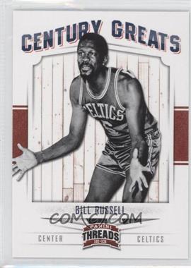 2012-13 Panini Threads - Century Greats #6 - Bill Russell