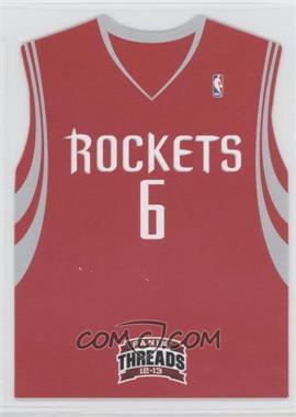 2012-13 Panini Threads - Rookie Team Threads Die-Cut #18 - Terrence Jones