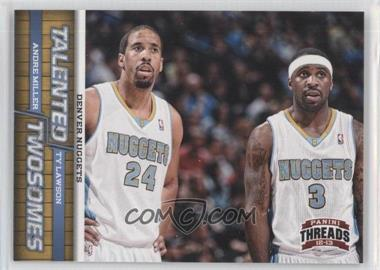 2012-13 Panini Threads - Talented Twosomes #7 - Andre Miller, Ty Lawson