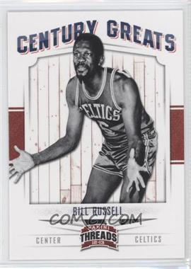 2012-13 Panini Threads Century Greats #6 - Bill Russell