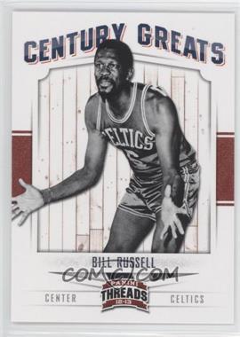 2012-13 Panini Threads Century Greats #6 - Bill Russell