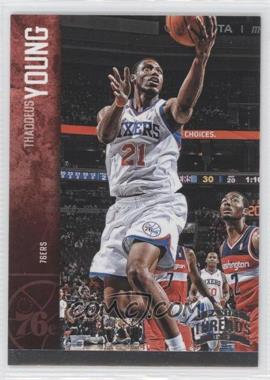 2012-13 Panini Threads Century Proof Silver #115 - Thaddeus Young /99