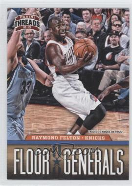 2012-13 Panini Threads Floor Generals #10 - Raymond Felton