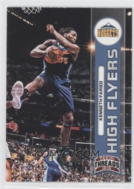 2012-13 Panini Threads High Flyers #16 - Kenneth Faried