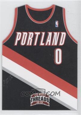 2012-13 Panini Threads Rookie Team Threads Die-Cut #12 - Damian Lillard
