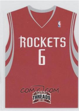 2012-13 Panini Threads Rookie Team Threads Die-Cut #18 - Terrence Jones