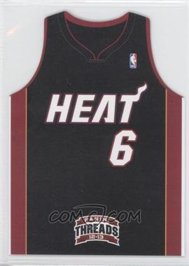 2012-13 Panini Threads Team Threads Die-Cut #4 - Lebron James
