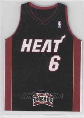 2012-13 Panini Threads Team Threads Die-Cut #4 - Lebron James