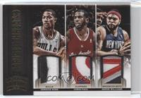 Chris Paul, Derrick Rose, Deron Williams /25