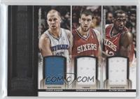 Chris Kaman, Elton Brand, Spencer Hawes
